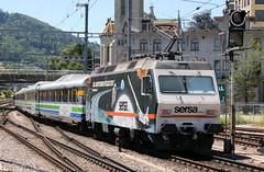 127504 456 093 (SOB) St Gallen Station 20.06.2011 (31417) Tags: 456093 re456 sob stgallen switzerland voralpenexpress