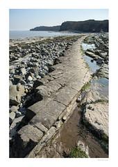 Kilve Beach (m_graf67) Tags: beach landscape somerset uk coast rockformations