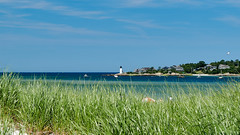 Jul 06 2017 0010 (pete.staffier) Tags: ~what ~land beach ~plant grass ~attribute ~colour blue green ~photography ~typeofphotography oceanscape ~waterelements ocean lighthouse ~animal bird seagull