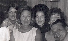 Jen Bobbie Sister Bonnie Mom Dad circa 1969 (jmbder) Tags: 1969 familyphoto mom daddy bonnie bells25anniv