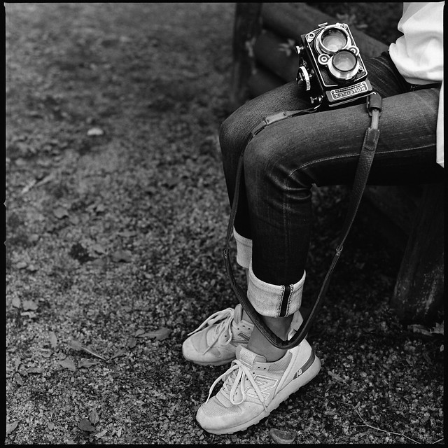 finest selection 340f7 356bb New balance and Rolleiflex