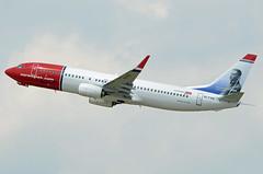 Norwegian Air International Boeing 737-8JP(WL) EI-FVS Benito Pérez Galdós (EK056) Tags: norwegian air international boeing 7378jpwl eifvs benito pérez galdós düsseldorf airport