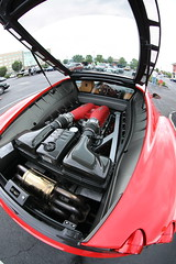 Ferrari F430 (Atodog) Tags: car automobile fisheye wideangle engine ferrarif430 f430 ferrari