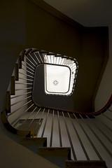 Spiral Stairs (nydavid1234) Tags: nikon d600 nydavid1234 scotland edinburgh scottishnationalgalleryofmodernart museum stairs staircase stairway spiral spiraling architecture architecturaldetail bannister banister shadow chiaroscuro