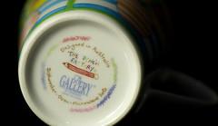 Bottoms up (judith511) Tags: macromonday mm hmm bottomsup mug