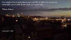 (in)CITAZIONI (Biblioteca Scienze Sociali UNIGE) Tags: porto genova università biblioteca biblioteche citazione citazioni dickens panorama skyline luci nuvole libri letture