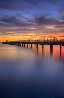 Petone Pier Sunset