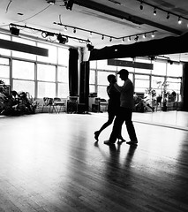 Tango Lesson I (Joe Josephs: 3,166,284 views - thank you) Tags: blackandwhitephotography blackandwhite dance dancing people learning tango
