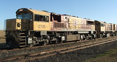 Aurizon action (Dulacca.trains) Tags: locomotive train aurizon 2335 1756 1733 australia aussie australian queensland dulacca queenslandrailways livestock