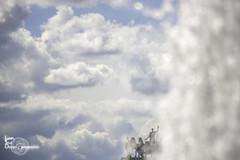 Carrousel du Louvre (Lonely Soul Design) Tags: carrousel du louvre sky blue water paris france statue monument