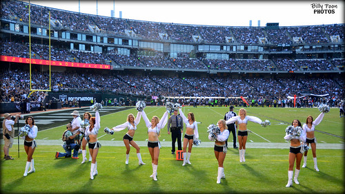 2016 Oakland Raiderettes @ the Coliseum