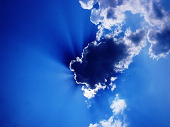 sky (Darek Drapala) Tags: clouds sky skyskape blue nature sun sunshine sunbeams light lumix panasonic panasonicg5
