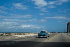 Cuba - Havana Taxi (In.Deo) Tags: cuba havana malecón street taxi