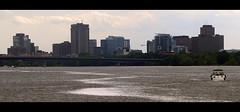 Gatineau, QC (blix613) Tags: ottawariver rivièredesoutaouais ontario quebec city skyline river june juin 2017