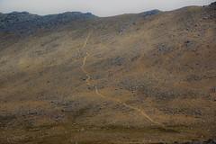 Up the hill backwards (Andrew 62) Tags: elidirfawr mountain path scree landscape wales cymru gwynedd