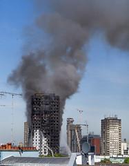 Grenfell Tower Blaze (Warren Brendan McCann) Tags: grenfelltower london kensington fire canong1x canon smoke