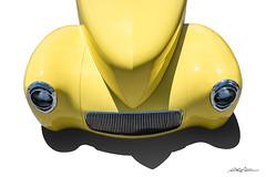 Nose Job (DL_) Tags: yellow vintage streetrod hotrod willys coupe automotive transportation olympusomdem5mkii