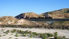 UP at Cajon Pass (flannrail) Tags: unionpacific bnsf cajonpass cajon california railroad mountain