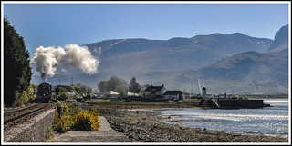 Leaving Corpach