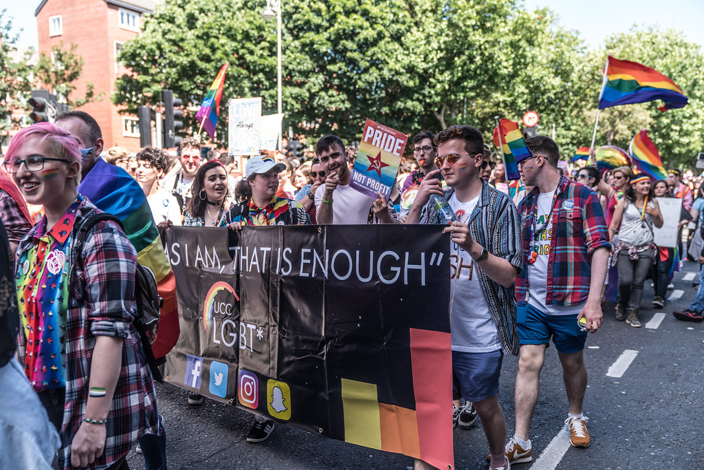 LGBTQ+ PRIDE PARADE 2017 [ON THE WAY FROM STEPHENS GREEN TO SMITHFIELD]-130052