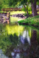 Brian_Unicorn Stream 2 Glow LG_042917_2D_FotoSketcher (starg82343) Tags: 2d brianwallace