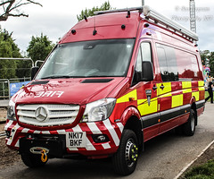 NK17 BKF (Ben Hopson) Tags: cleveland fire brigade brand new water rescue unit preston park rally engine