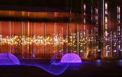 Extraterrestrial. Changing location. (Gudzwi) Tags: urban architecture architektur paullöbehaus berlin lichtkunst lichtmalerei langzeitbelichtung longexposure led lightpainting doubleexposure doppelbelichtung lightshow