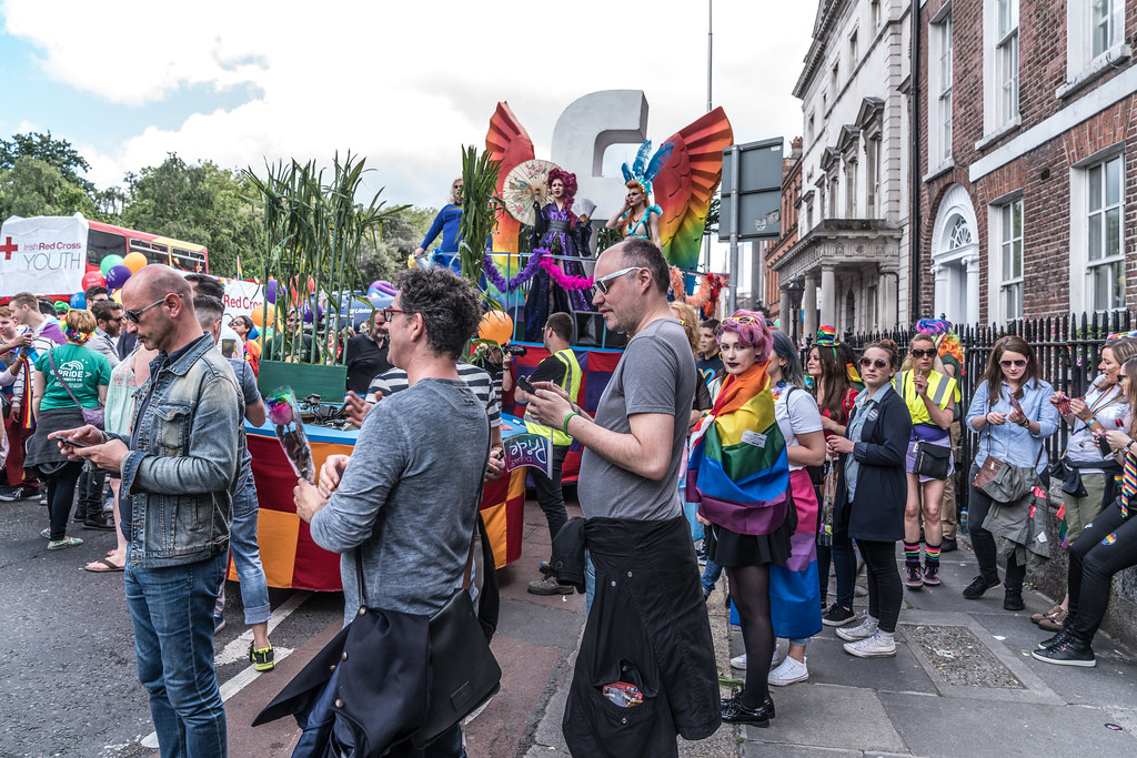LGBTQ+ PRIDE PARADE 2017 [STEPHENS GREEN BEFORE THE ACTUAL PARADE]-129806