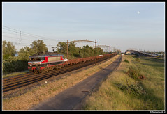 CT 1619 - 47607 (Spoorpunt.nl) Tags: 4 juni 2017 captrain 1619 raillogix glas trein 47607 willemsdorp moerdijkbrug