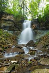 Treacherous Climbing (maureen.elliott) Tags: waterfalls waterflow river brucetrail niagaraescarpment woodland forest climb rocks escarpment