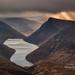Ben Crom Light (Hibernia Landscapes (sjwallace9)) Tags: ireland mountain mournes sunset winter