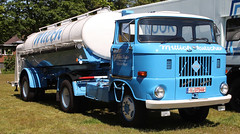 IFA milk tanker (Schwanzus_Longus) Tags: wilhelmshaven german germany east ddr gdr truck lorry vehicle freight cargo transport trailer tractor semi milk tanker coe cab over engine ifa w50