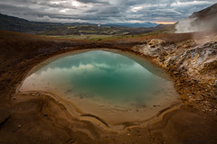 Lakaskörð (Atlapix) Tags: lakaskörð þverárdalur hengilsvæðið swiceland iceland warmspring geothermal green pond water nature landscape hotspring europe
