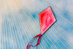 String Kite 2 (fsm vpggru) Tags: macro string art craft kite thread pins