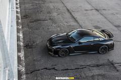 Nissan GTR (Bas Fransen Photography) Tags: nissan gtr nissangtr newnissangtr blacknissangtr godzilla