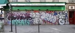 ► Howok - Bicho - Dexa - 10Foot - Goog ◄ (Ruepestre) Tags: howok bicho dexa 10foot goog art paris parisgraffiti france graffiti graffitis graffitifrance graffitiparis urbanexploration urbain urban streetart street mur wall walls rue ville villes city spray