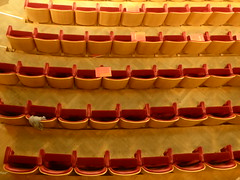 The seats below (seikinsou) Tags: brussels belgium bruxelles belgique summer bozar concert cello queenelisabeth competition final interval
