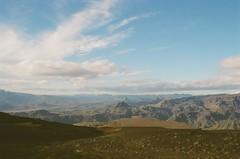 Heavenly (IggyRox) Tags: iceland island scandinavia europe north nature beauty film 35mm mountains sky clouds hike color fimmvorduhals thorsmork heaven rjupnafell hattfell emstrur godaland morinsheidi heljarkambur above view open rangarvallasysla