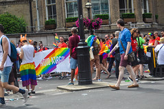 London Pride 2017 (MangakaMaiden Photography) Tags: londonpride lgbt lesbian gay bisexual transgender london parade rainbow spectrum dragqueen queer cosplay crossplay sponsors crowd princess