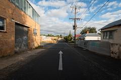 This way please (Andrew_Dempster) Tags: australia ballarat victoria vic directionalarrow arrow urban