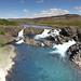 060917 Fishladder Waterfall Akureyri Reykjavik Trip Pan