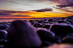 Get Your Rocks Off (Brian Travelling) Tags: rocks off sunset stone stones pebbles beach northayrshire scotland sunsetsandsilhouettes scenery pentaxkr pentax pentaxdal peaceful