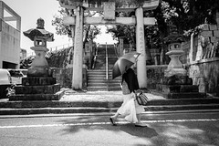 Shrine (yoshi_2012) Tags: streetphotography スナップ 富士フイルム fujifilm fujixseries back alley backstreet 路地裏 裏路地 travelphotography 福岡 fukuoka iizuka 飯塚