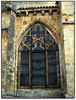 Finestra, Iglesia de San Pedro, Santo Domingo de Silos (Burgos, España)
