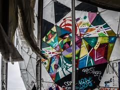 Colours (katrin glaesmann) Tags: berlin teufelsberg flugüberwachungsundabhörstation flugsicherungsradarstation streetart wallart fieldstationberlinteufelsberg nsa