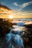 Sun Daze (Aron Cooperman) Tags: aroncooperman escaype hawaii landscape may2017 openlightphoto seascape sunset nikond800 sescape sunstar sundown sunflare wave waves pacificocean water ocean beach anaehoomalubay
