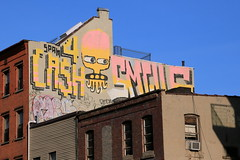 cash4 ufo smells (Luna Park) Tags: ny nyc newyork brooklyn graffiti 907crew cash4 ufo907 smells smell907 rollers rooftop lunapark spamrip