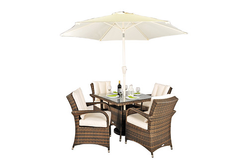 Stylish, robust Rattan garden furniture