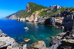 Portovenere (Antonio Casti) Tags: casty liguria cinqueterre estate paesaggio canoneos5dmarkiii italy italia panorama chiesa mare viaggio portovenere it