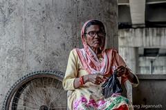 Untitle (Tarang Jagannath) Tags: woman roadside india colour